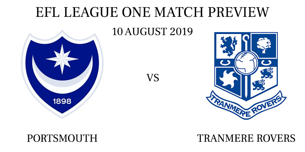 Portsmouth vs Tranmere Rovers
