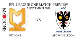 MK Dons vs AFC Wimbledon