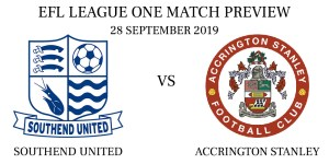 Southend United vs Accrington Stanley