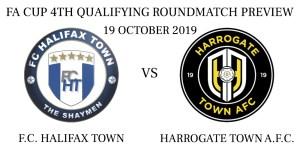 F.C. Halifax Town vs Harrogate Town A.F.C.