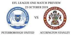 Peterborough United vs Accrington Stanley