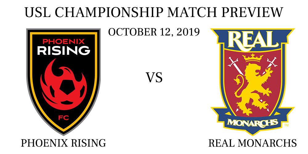 Phoenix Rising vs Real Monarchs