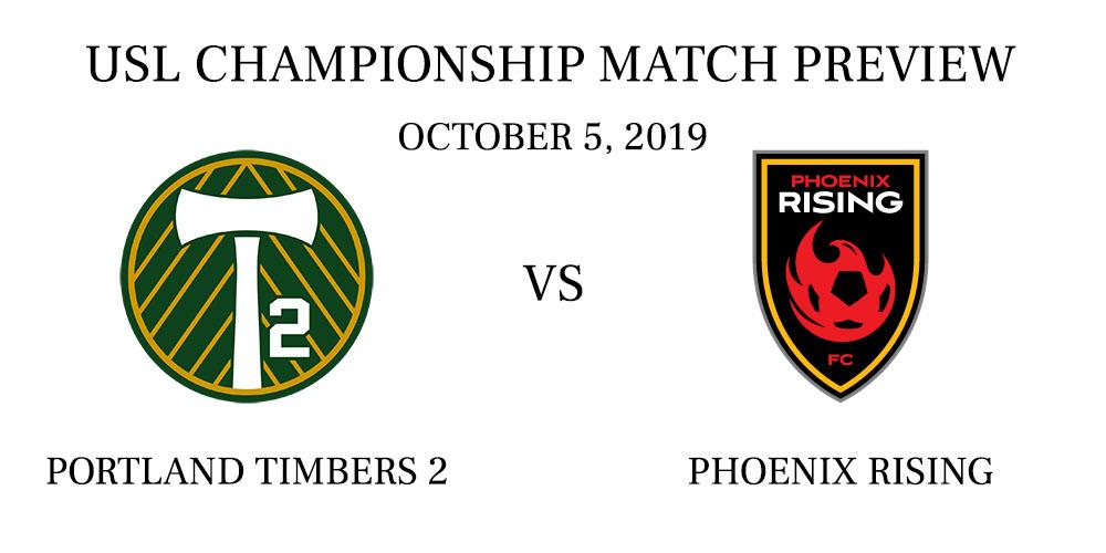 Portland Timbers 2 vs Phoenix Rising