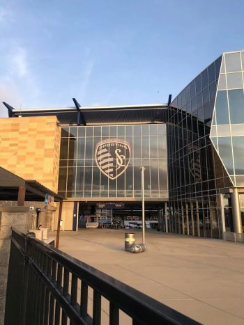 Sporting KC stadium entrance