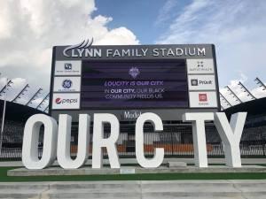 Lou City stadium front