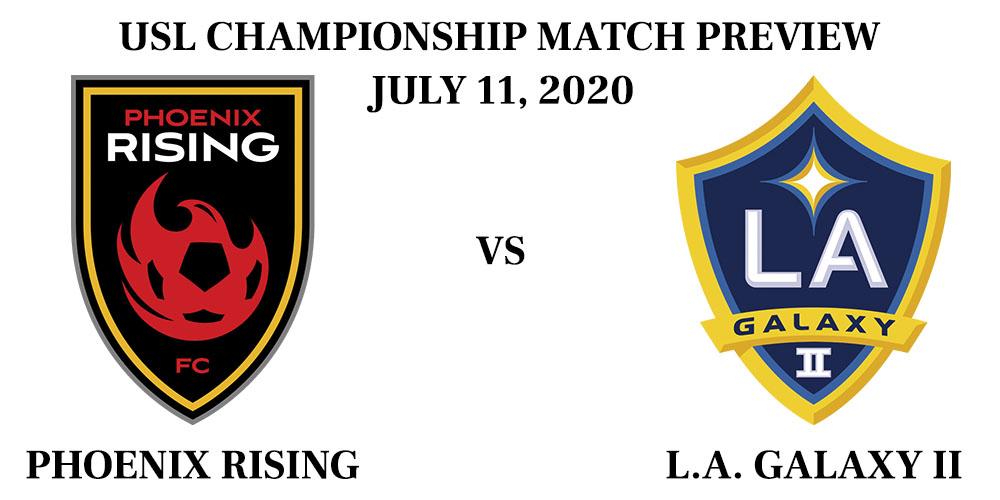 Phoenix Rising vs LA Galaxy II 2020