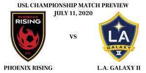 Phoenix Rising vs LA Galaxy II 2020