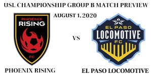 Phoenix Rising vs El Paso Locomotive