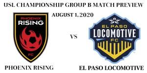 Phoenix Rising vs El Paso Locomotive