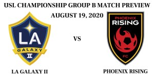 LA Galaxy II vs Phoenix Rising 2020