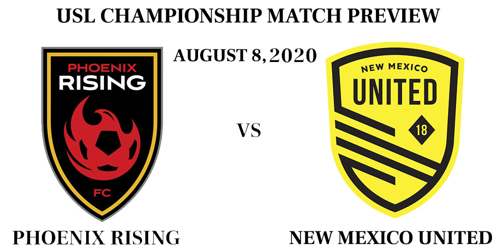Phoenix Rising vs New Mexico United match preview