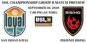 San Diego Loyal vs Phoenix Rising