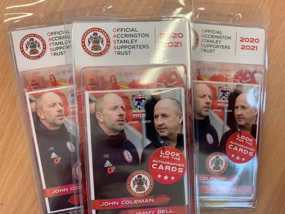 Accrington Stanley Trading Cards