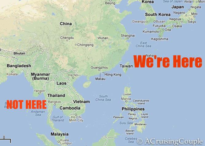 Where is Taiwan