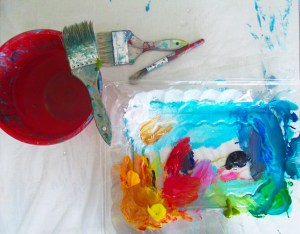 acrylic muse paint art be inspired