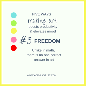 five ways making art boosts productivity and elevates mood number three freedom