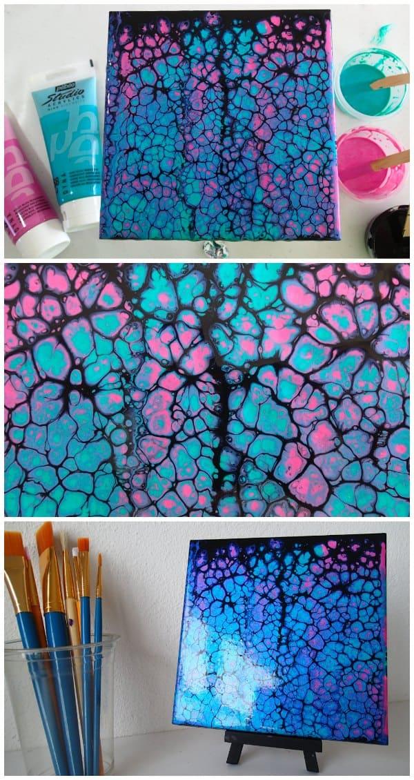 Painting Wood Pattern Tutorial Acrylic