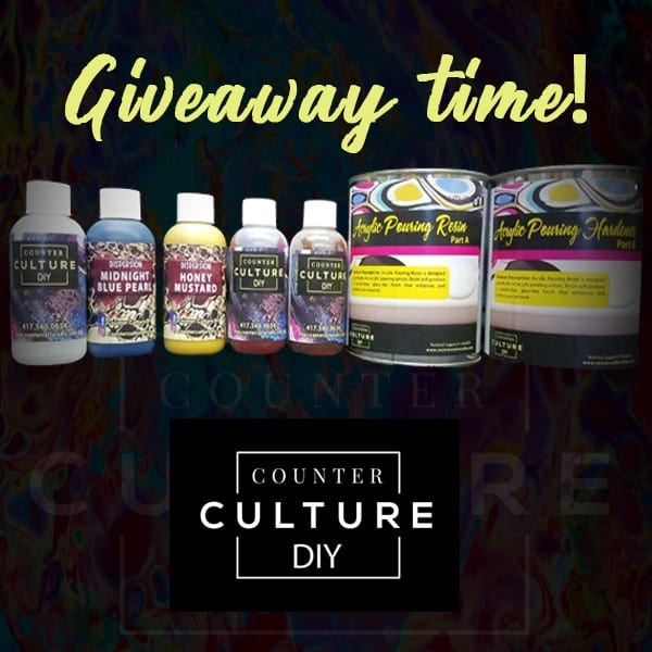 counter culture resin giveaway
