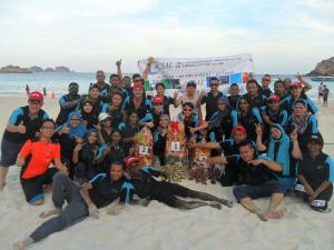 SAL Group Team Building 2016   in the air, on the oceans, on land   Sandy Beach Pulau Redang