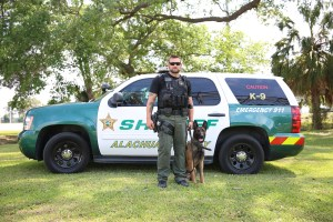 K-9 Ruger and his human partner