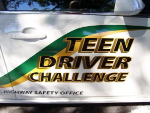 Florida Sheriff's Association Teen Driver Challenge Vehicle Logo