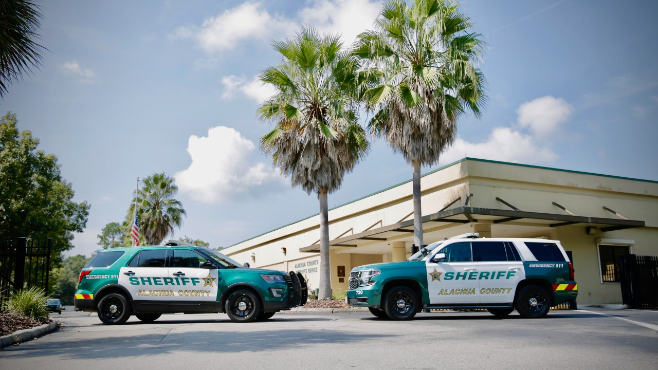 Alachua County Sheriff's Office Patrol Vehicles - Ford Explorer and Chevy Tahoe