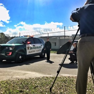 Sheriff filming Alachua County's Most Wanted