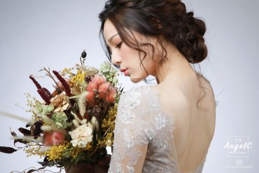 新娘捧花 拍照捧花 不凋花 乾燥花 捧花推薦