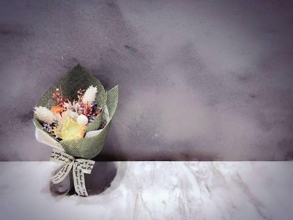 新娘捧花訂作,乾燥花, 乾燥花 不凋花 捧花訂製 手作花藝課程