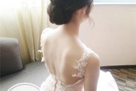 白紗造型 / 低髮髻 / 時尚新娘 / 混血妝感 / 新娘秘書 / 新娘造型 / 甜美自然 / 韓系 / 文定造型 / 新娘秘書
