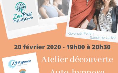 Atelier découverte de l'auto-hypnose à Genève
