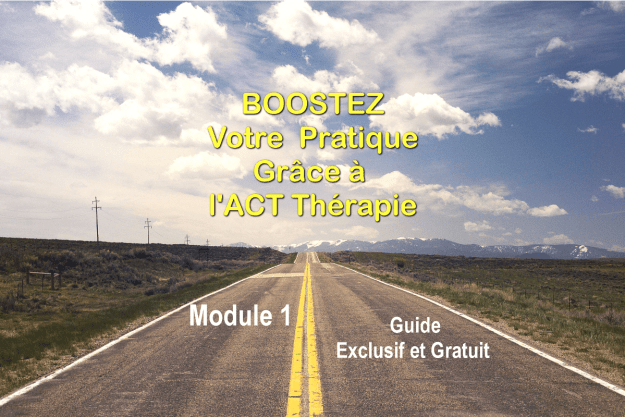 Boostez ACT Therapie Module 1