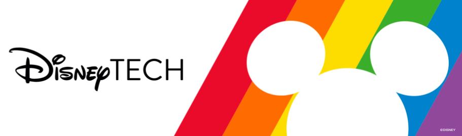 DisneyTECH Rainbow Logo