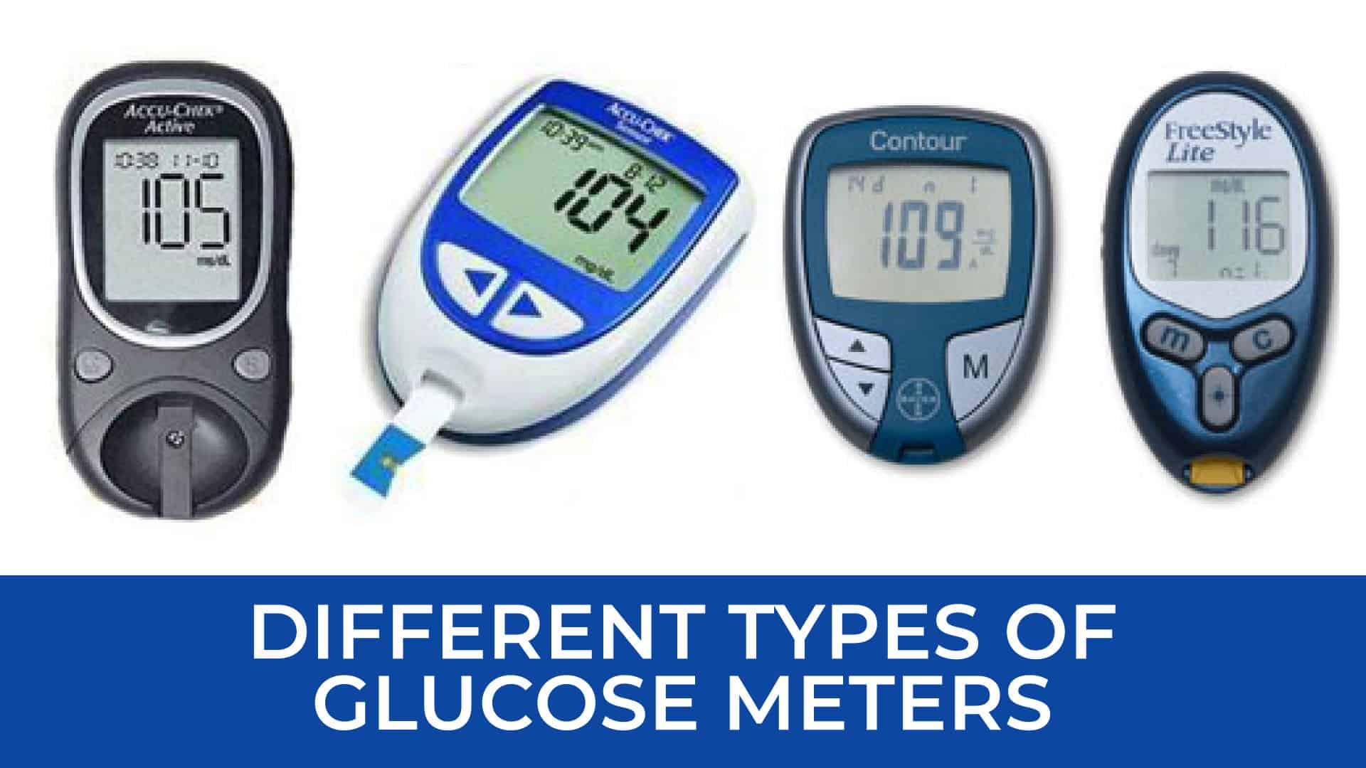 types of glucose meters