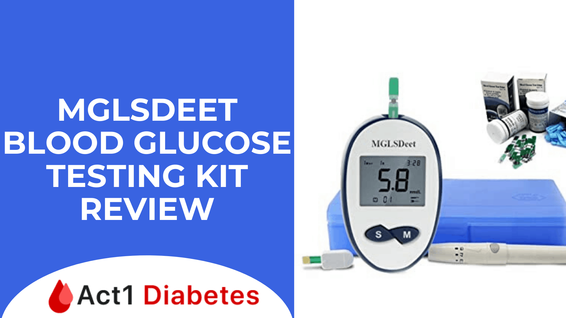 MGLSDeet Blood Glucose testing Kit Review