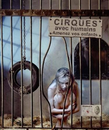 cirque avec humain
