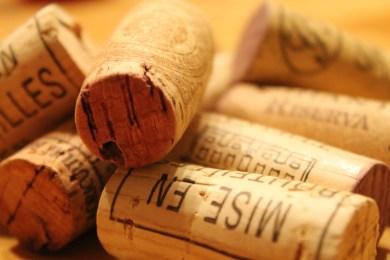 wino grzane, grzaniec, korki