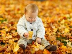 Jesień dla dzieci - zabawa