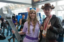 The Rescue Rangers make an appearance at this year's convention.