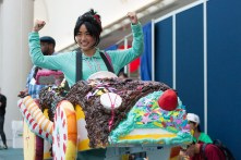 Vanellope from 'Wreck-It Ralph' flexes her costume-making skills.