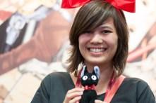 Maiko cosplays as Studio Ghibli's Kiki.