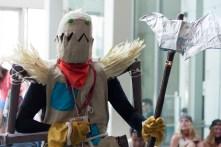 Fiddlesticks from 'League of Legends' brandishes his scythe.