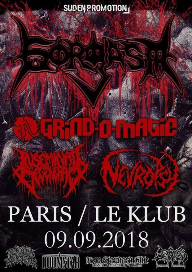 Gorgasm + Grind-O-Matic + Inseminate Degeneracy + Nevropsy
