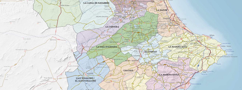 Mapa Territorio Acuerdo