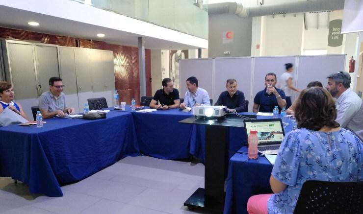 Reunió Consell Rector d'Actaio 10 Juliol Àgora Alcoi