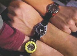 Synchronisation des montres!