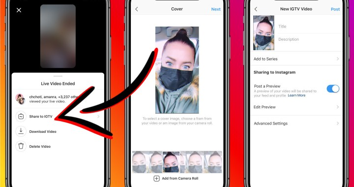 How To Post Your Instagram Live Video To IGTV Without Downloading or Screen Recording