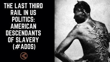 The Last Third Rail In US Politics: American Descendants of Slavery (#ADOS) 8