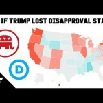 What If Trump Lost Every Disapproval State? - 2020 Presidential Predictions Map - June 2019 19