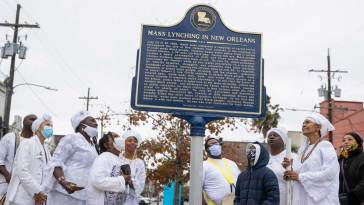 EJI Partners with Community to Memorialize Lynching Victims in New Orleans 18
